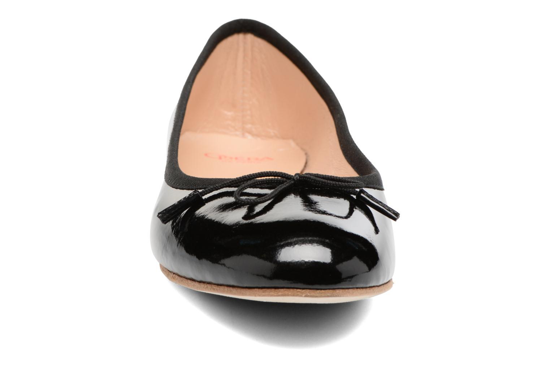 Ballerines Opéra national de Paris Eden Noir vue portées chaussures