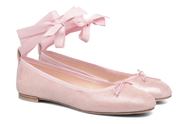Ballet pumps Opéra national de Paris Eaton Pink 3/4 view