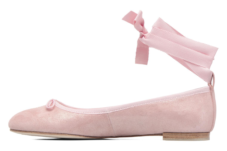 Ballet pumps Opéra national de Paris Eaton Pink front view