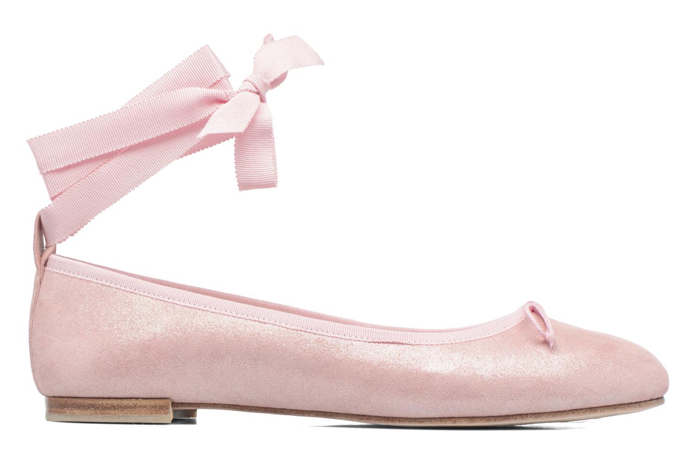 Ballet pumps Opéra national de Paris Eaton Pink back view