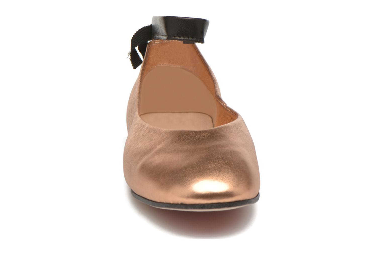 Ballerines Opéra national de Paris Odran Orange vue portées chaussures