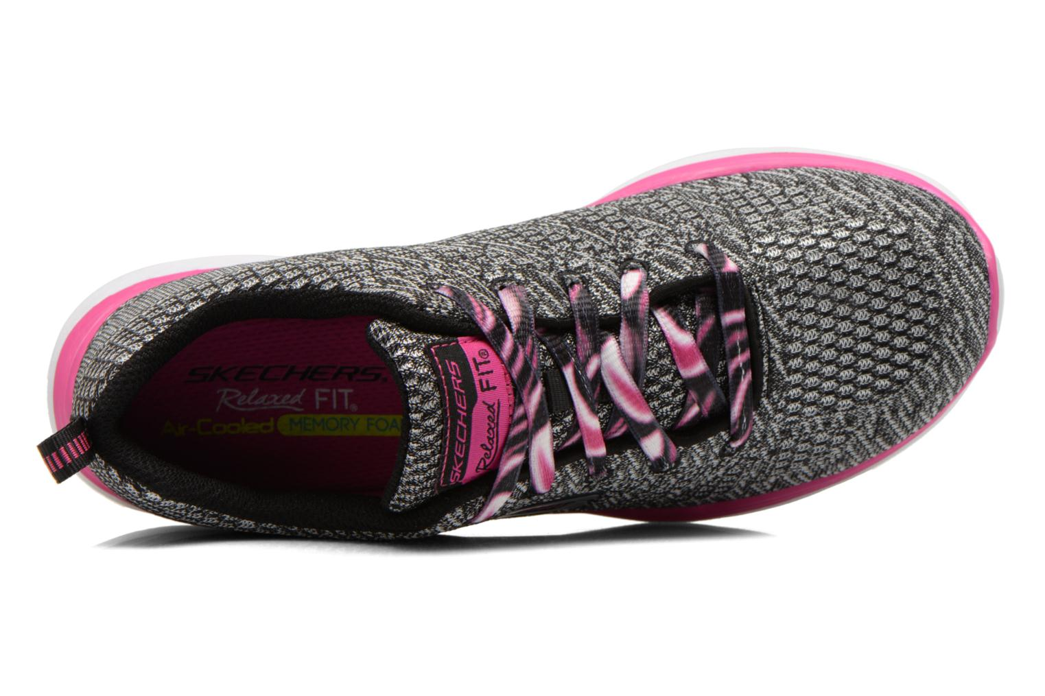 Valeris Kool Thing Black & White Pink