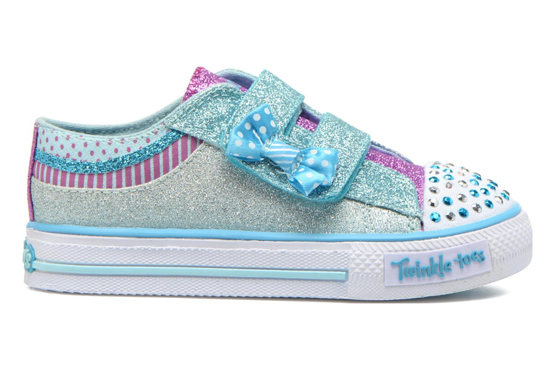 Sneakers Skechers Shuffles Bow Buddies Blå se bagfra