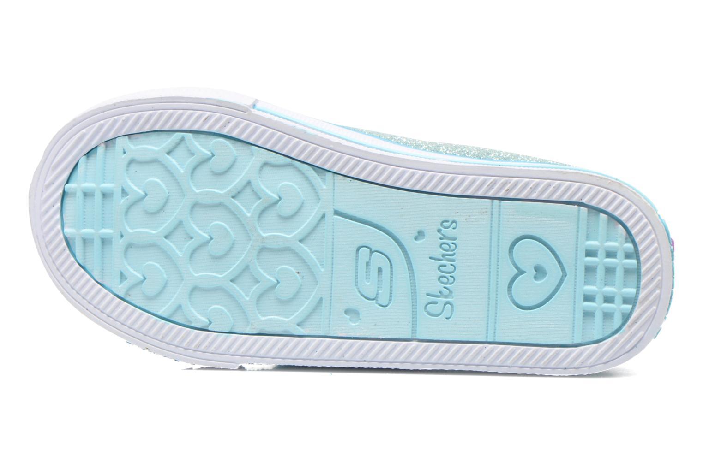 Sneakers Skechers Shuffles Bow Buddies Blå se foroven