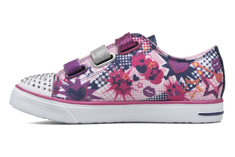 Sneakers Skechers Twinkle Breeze Pop-Tastic Pink se forfra