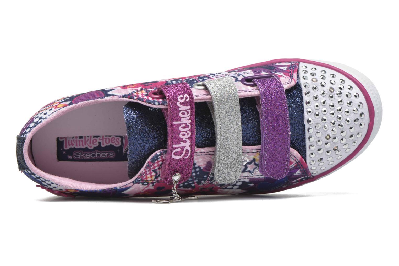 Sneakers Skechers Twinkle Breeze Pop-Tastic Pink se fra venstre