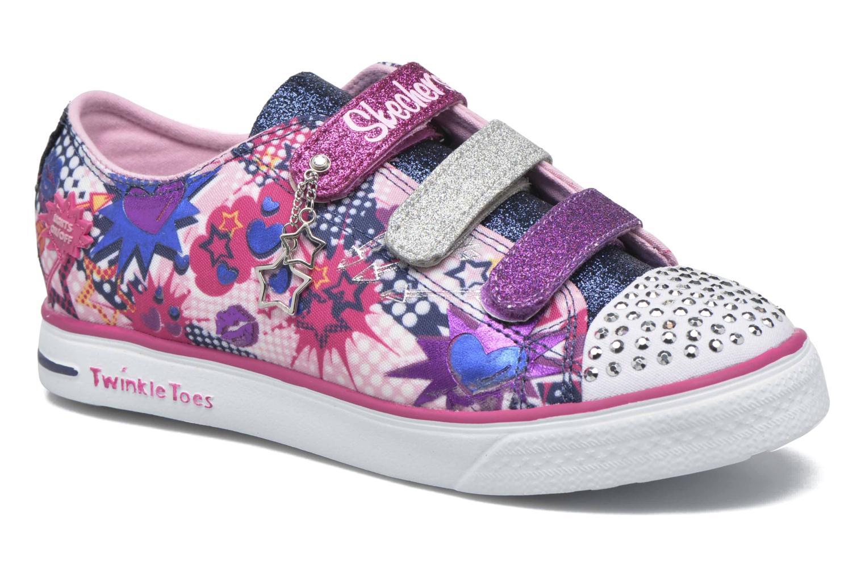 Sneakers Skechers Twinkle Breeze Pop-Tastic Pink detaljeret billede af skoene