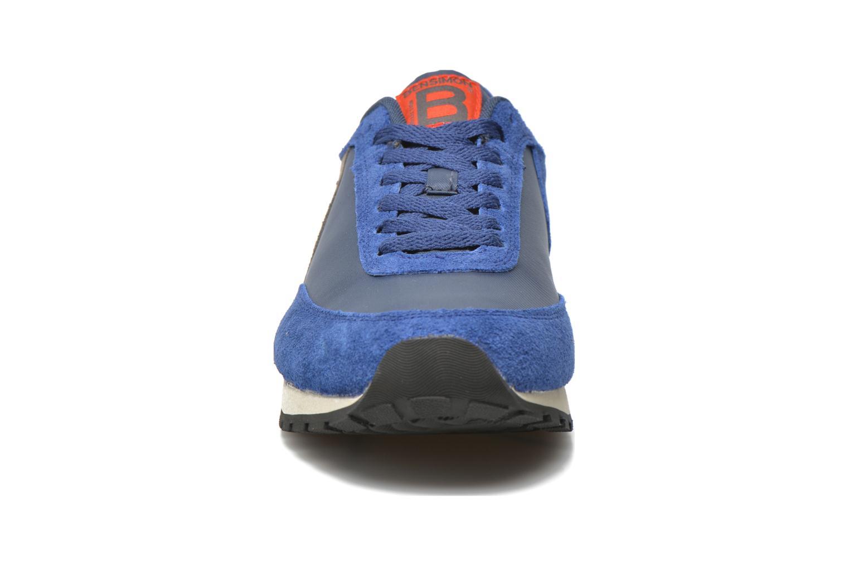 Baskets Bensimon Running Nylon Bleu vue portées chaussures