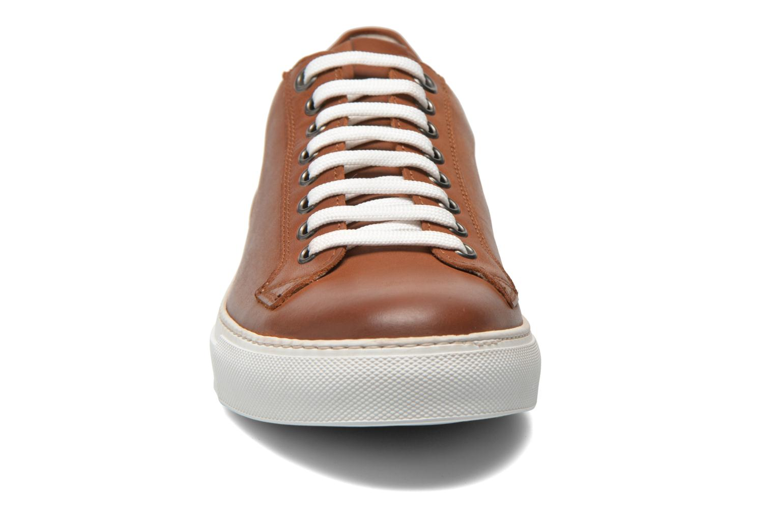 Baskets Marvin&Co Theriva Marron vue portées chaussures