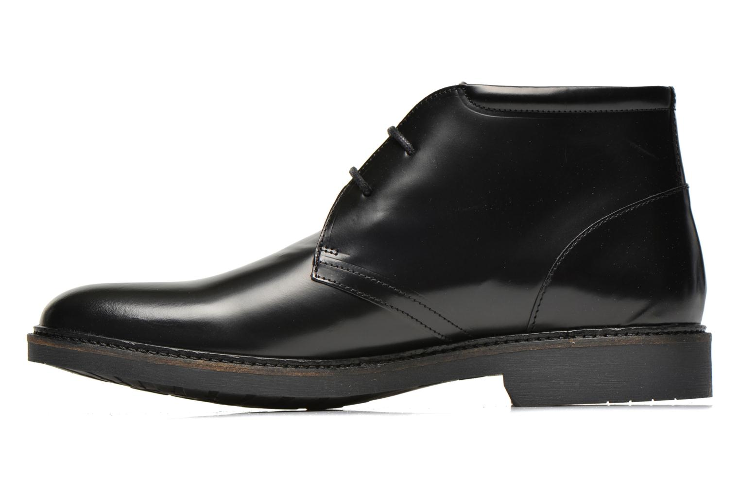 Lace-up shoes Schmoove Shadow Desert Black front view
