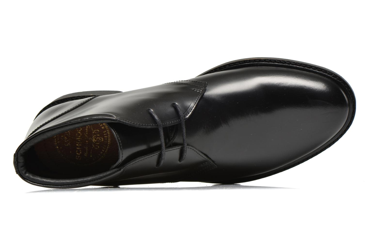 Lace-up shoes Schmoove Shadow Desert Black view from the left