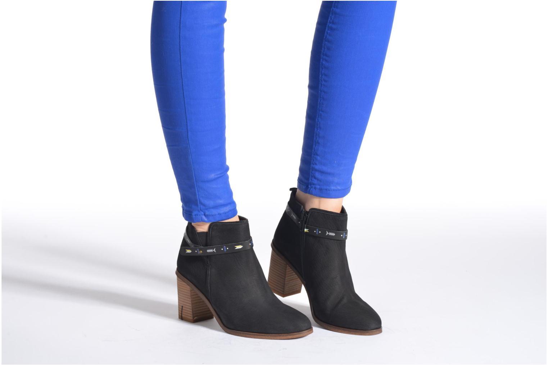 Bottines et boots Schmoove Woman Trust Link Boots Noir vue bas / vue portée sac
