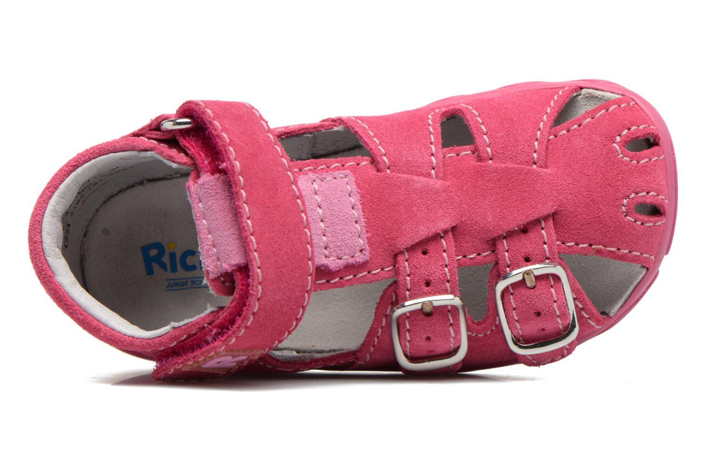 Sandali e scarpe aperte Richter Alenata Rosa immagine sinistra