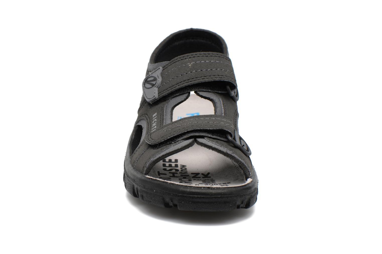 Sandales et nu-pieds Richter Korbl Noir vue portées chaussures