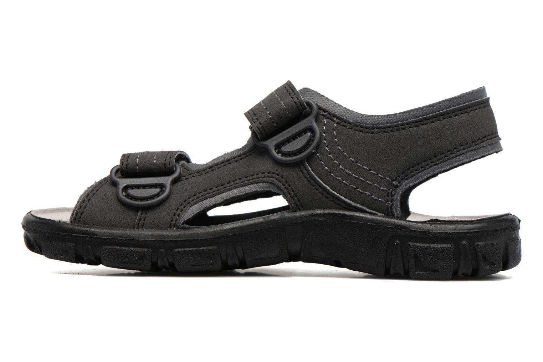 Sandales et nu-pieds Richter Korbl Noir vue face
