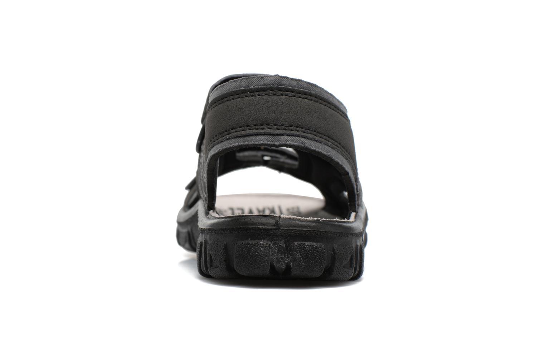 Sandales et nu-pieds Richter Korbl Noir vue droite