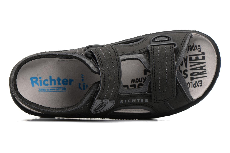 Sandales et nu-pieds Richter Korbl Noir vue gauche