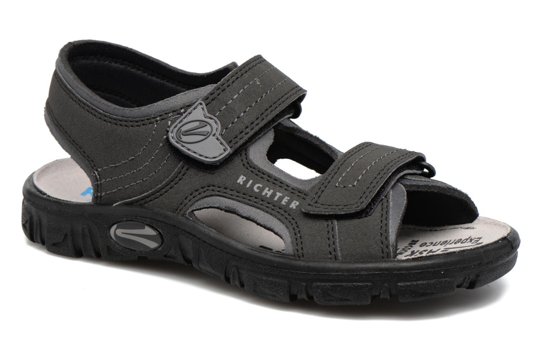 Sandaler Richter Korbl Sort detaljeret billede af skoene