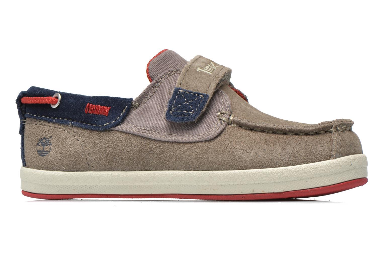 Chaussures à scratch Timberland Casco Bay H&L Boat OX Gris vue derrière