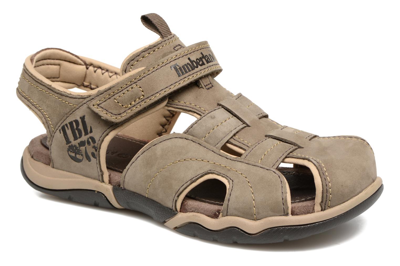 Sandales et nu-pieds Timberland Oak Bluffs Leather Fisher Gris vue détail/paire