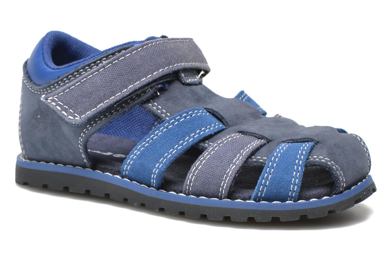 Sandales et nu-pieds Timberland Pokey Pine Fisherman Bleu vue détail/paire