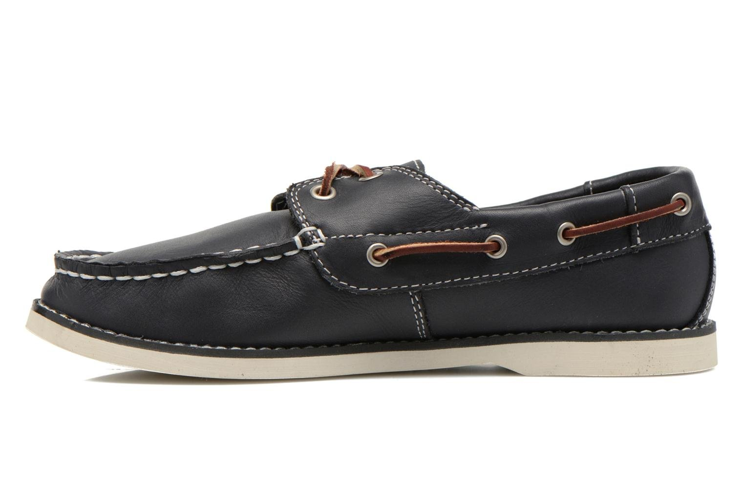 Chaussures à lacets Timberland Seabury Classic 2Eye Boat Bleu vue face
