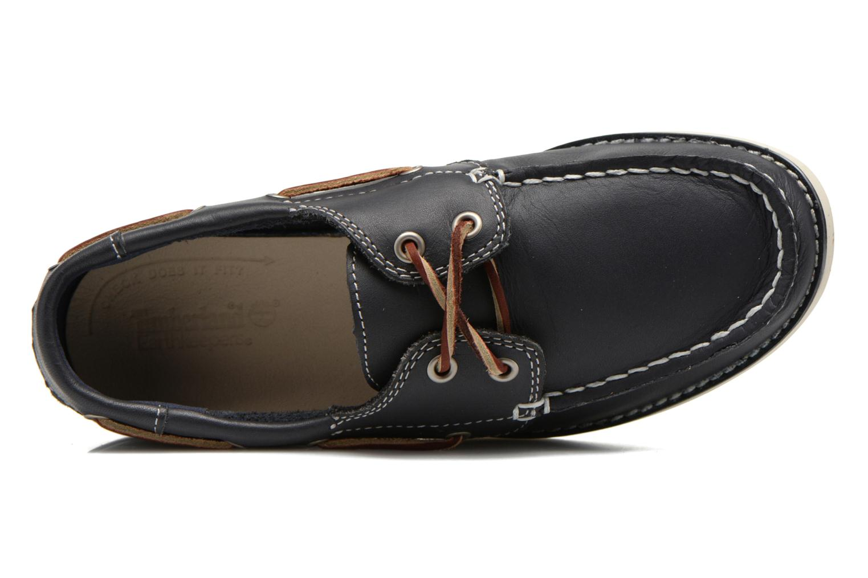 Chaussures à lacets Timberland Seabury Classic 2Eye Boat Bleu vue gauche