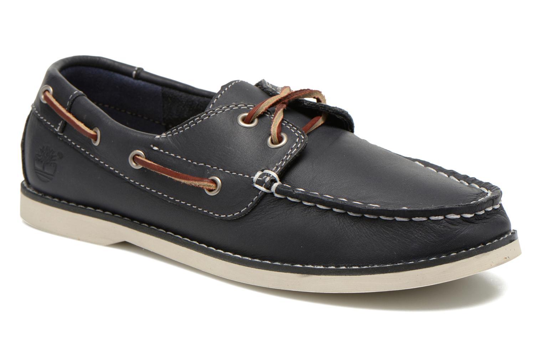 Chaussures à lacets Timberland Seabury Classic 2Eye Boat Bleu vue détail/paire