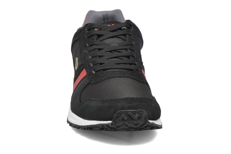 Baskets Lacoste Vauban Snm Noir vue portées chaussures