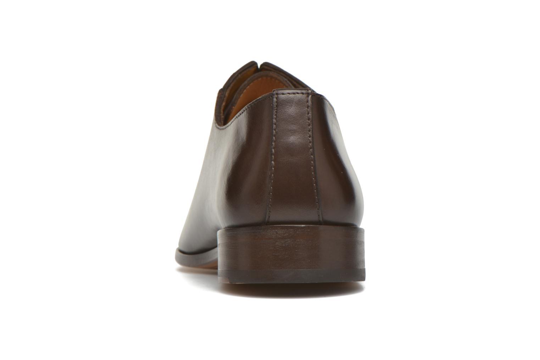 Chaussures à lacets Brett & Sons Raynew Marron vue droite