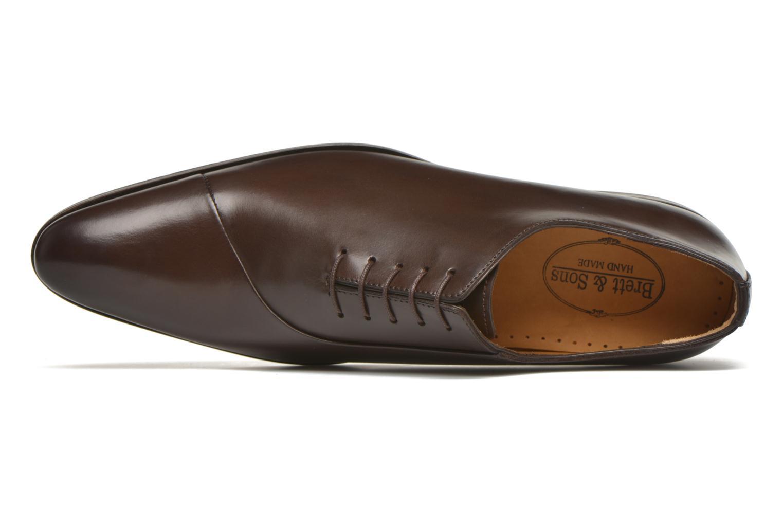 Chaussures à lacets Brett & Sons Raynew Marron vue gauche