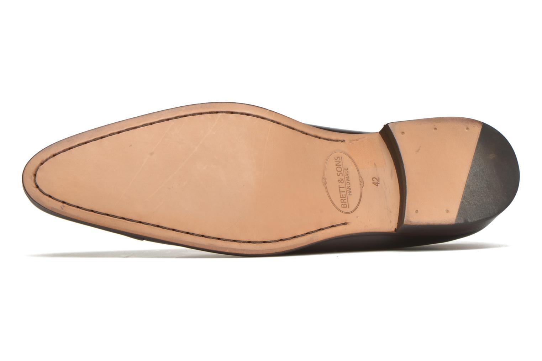 Chaussures à lacets Brett & Sons Raynew Marron vue haut