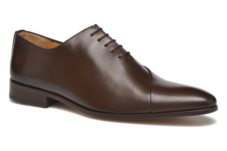 Snøresko Brett & Sons Raynew Brun detaljeret billede af skoene