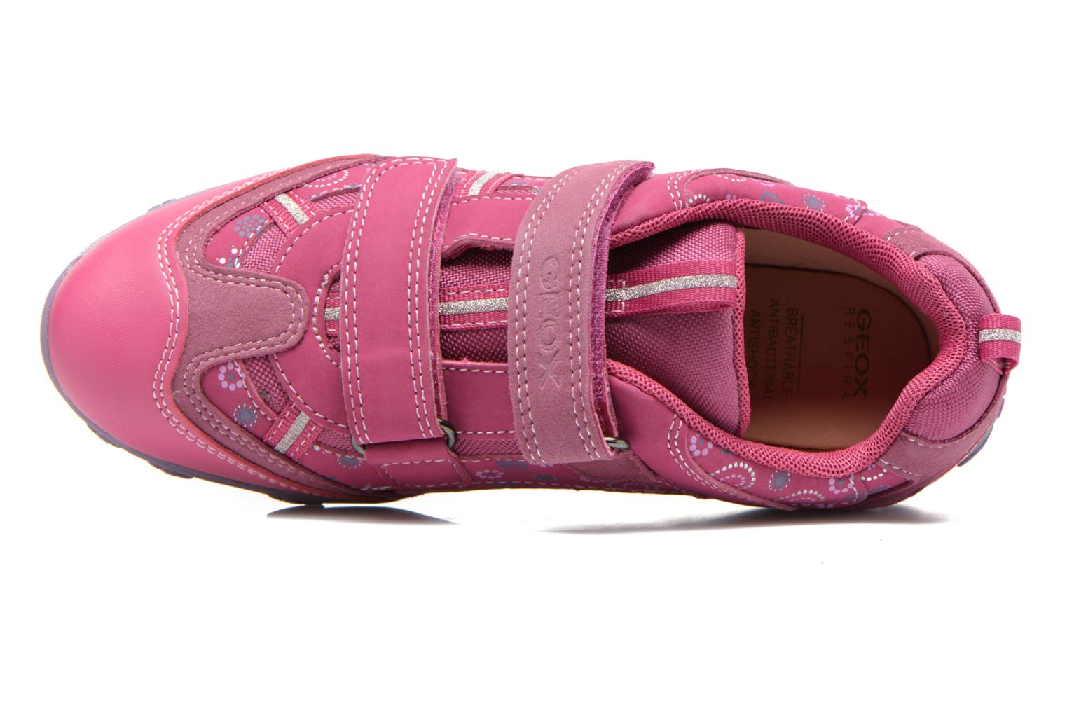 Sneaker Geox JR Better J44C1A rosa ansicht von links