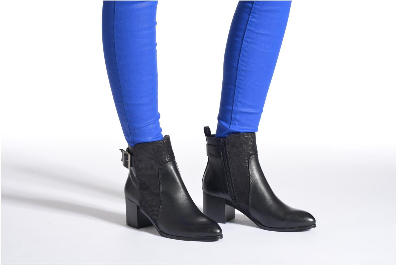 Boots en enkellaarsjes Divine Factory Kita Zwart onder