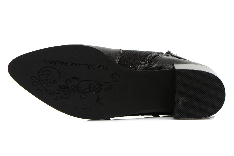 Boots en enkellaarsjes Divine Factory Kita Zwart boven