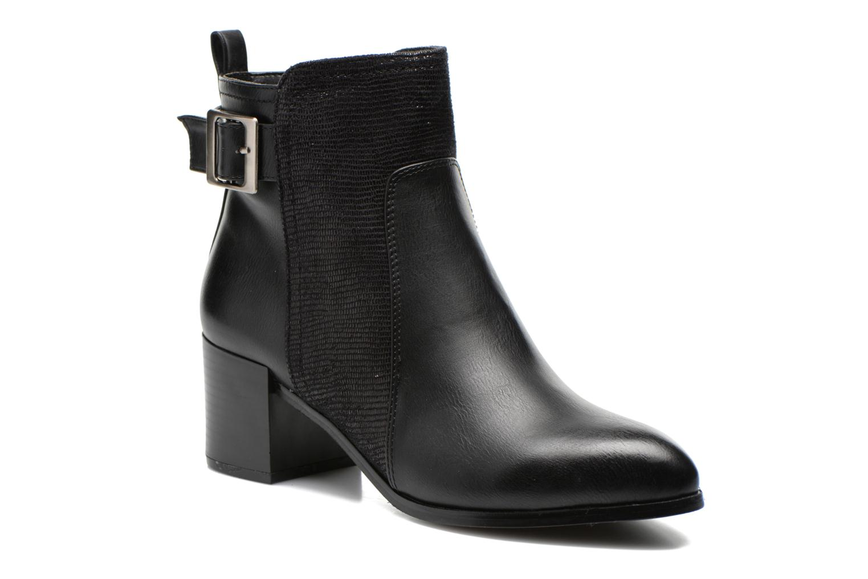 Boots en enkellaarsjes Divine Factory Kita Zwart detail