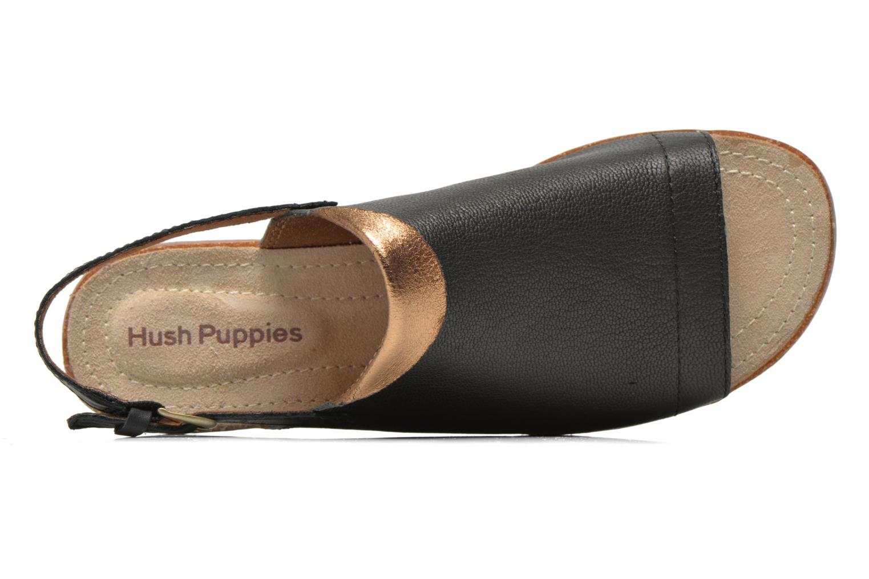 Sandales et nu-pieds Hush Puppies Nannette Jade Noir vue gauche