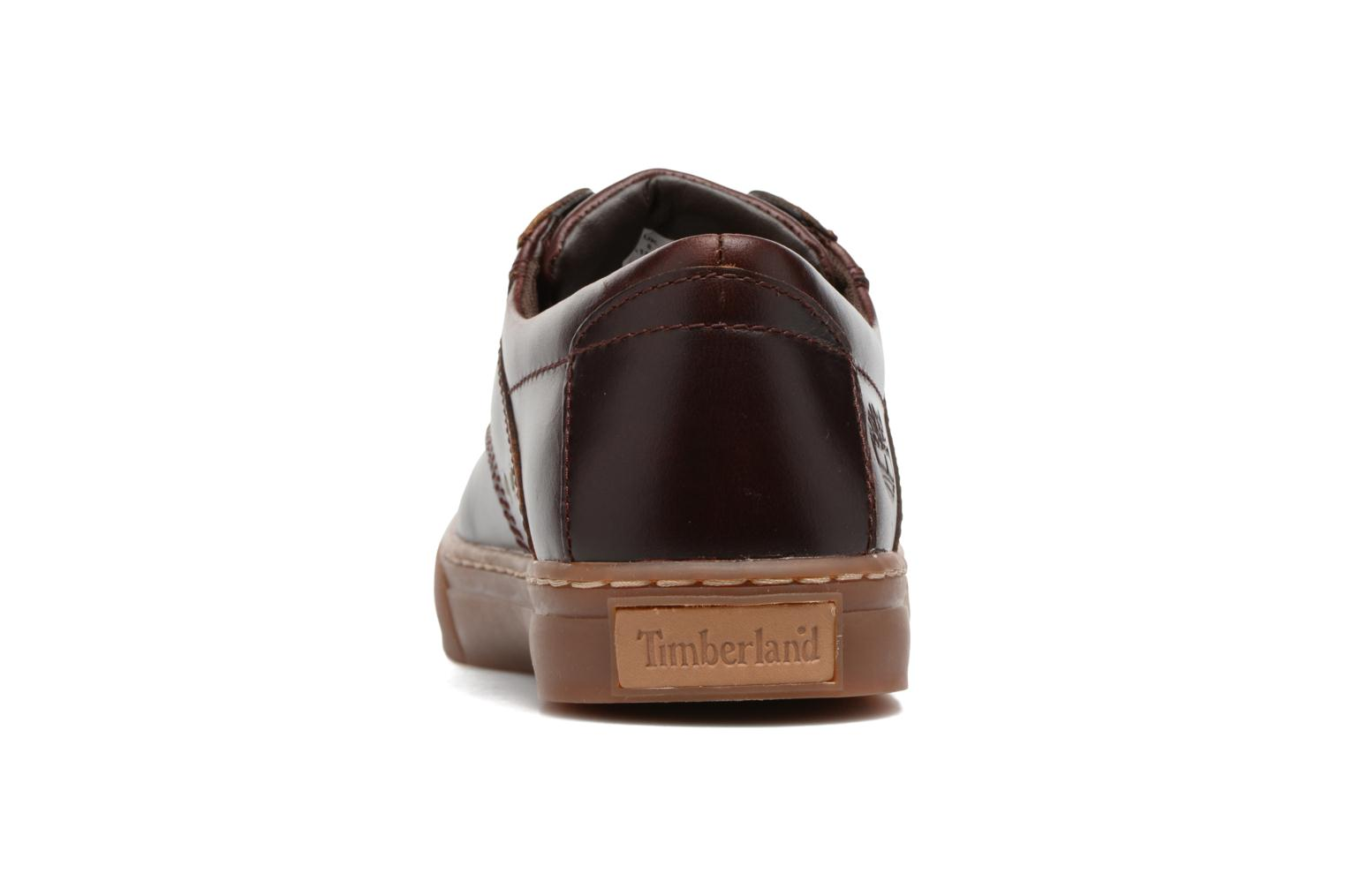 Trainers Timberland Adventure 2.0 Cupsole Lea Burgundy view from the right
