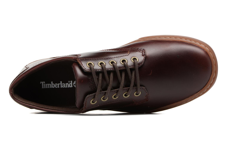 Sneaker Timberland Adventure 2.0 Cupsole Lea weinrot ansicht von links