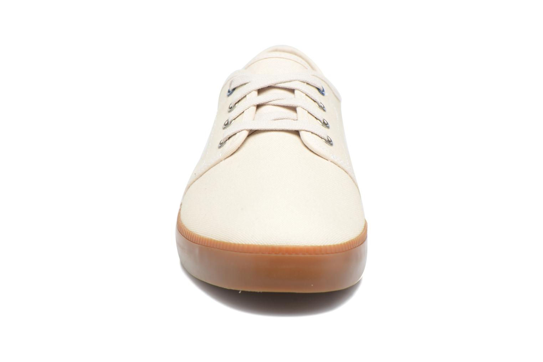 Baskets Timberland Newport Bay Canvas Plain Blanc vue portées chaussures