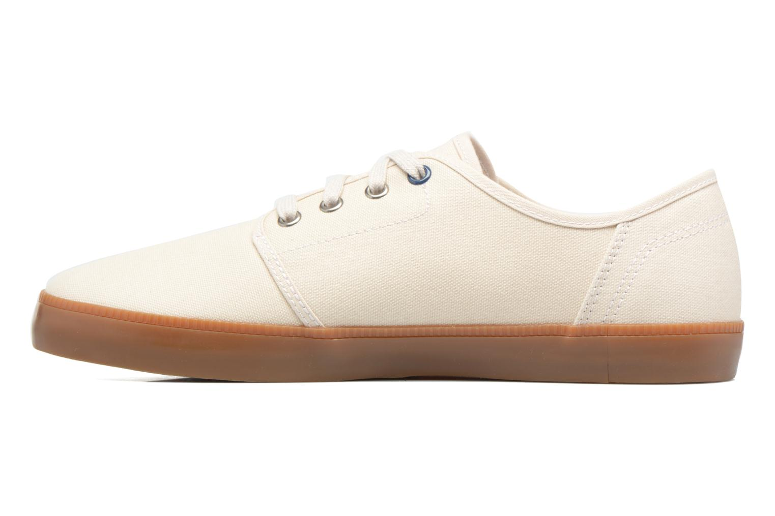 Baskets Timberland Newport Bay Canvas Plain Blanc vue face