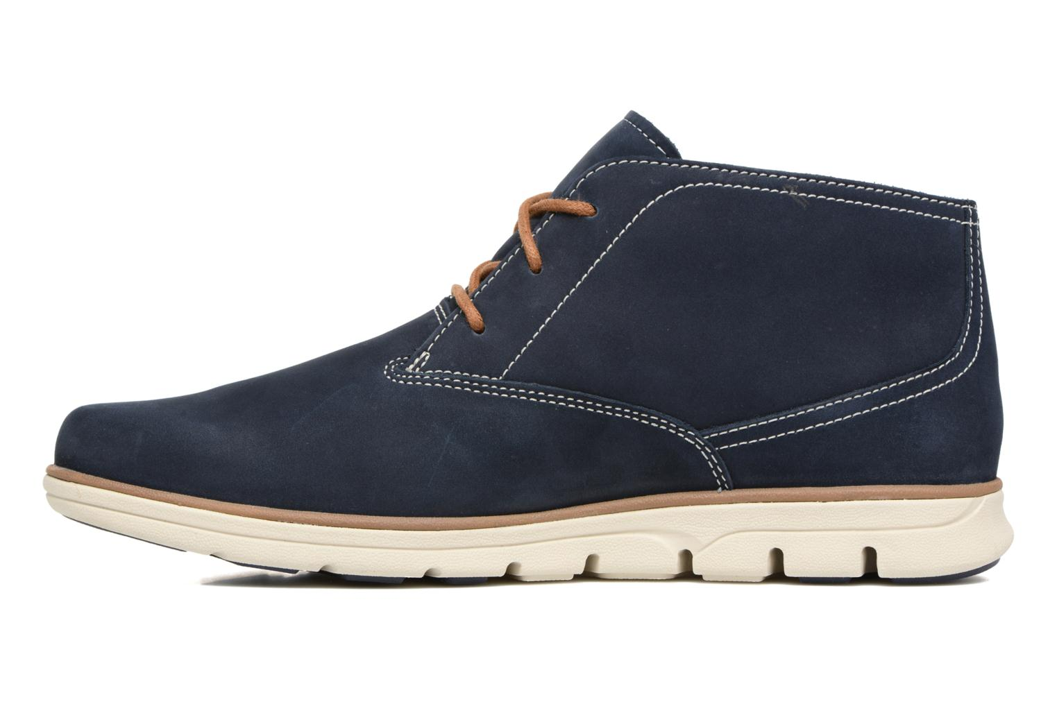 Lace-up shoes Timberland Bradstreet PT Chukka Blue front view
