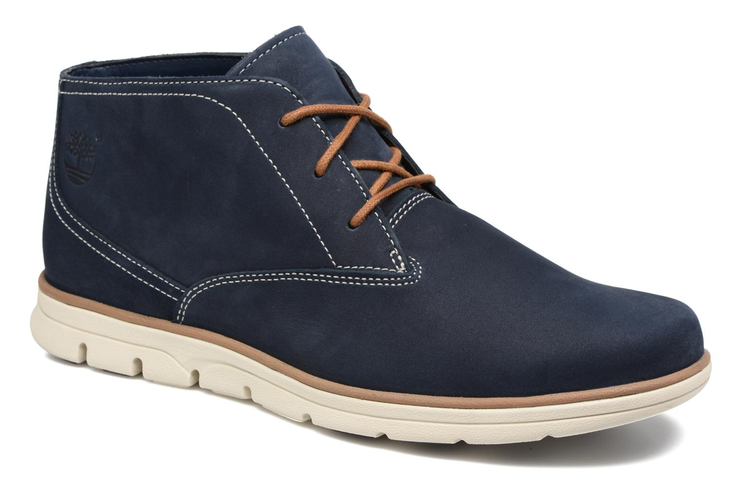 Lace-up shoes Timberland Bradstreet PT Chukka Blue detailed view/ Pair view