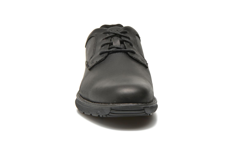 Schnürschuhe Timberland Barrett PT Oxford schwarz schuhe getragen