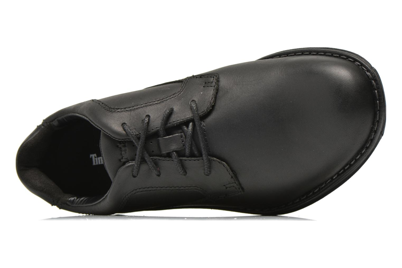 Chaussures à lacets Timberland Barrett PT Oxford Noir vue gauche