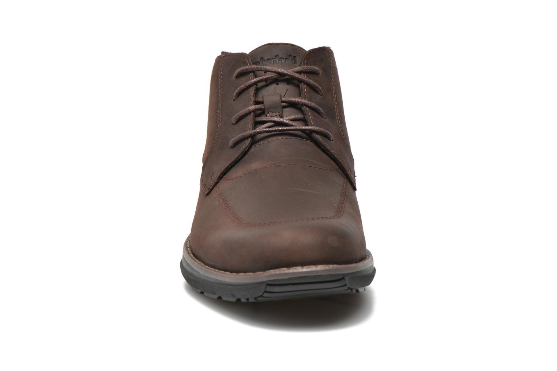 Chaussures à lacets Timberland Barrett PT Chukka Marron vue portées chaussures