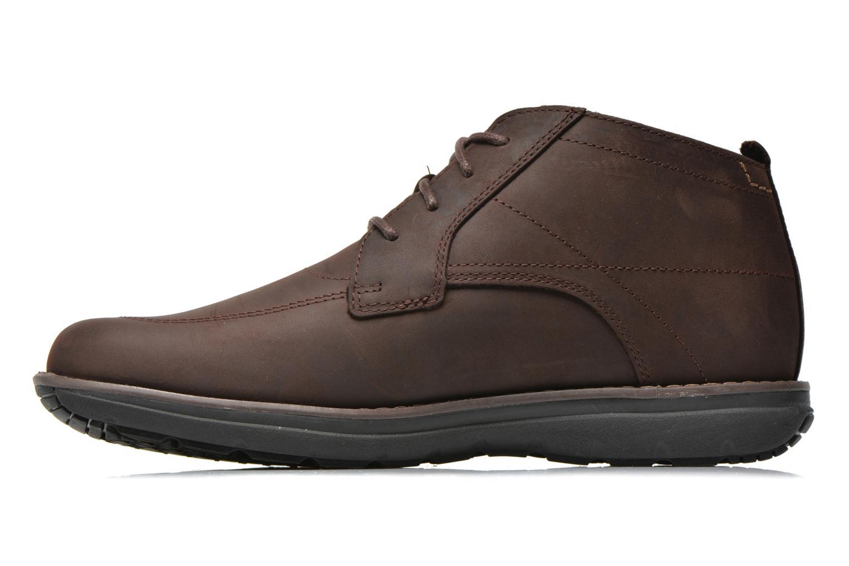 Chaussures à lacets Timberland Barrett PT Chukka Marron vue face