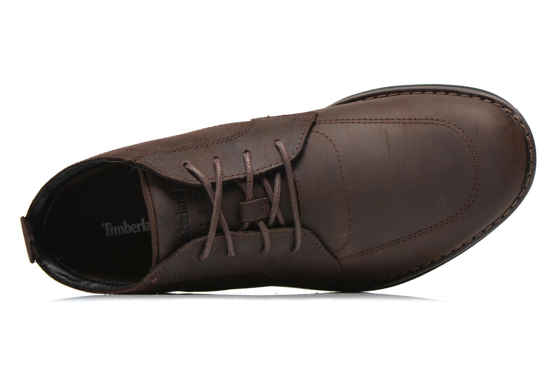 Chaussures à lacets Timberland Barrett PT Chukka Marron vue gauche