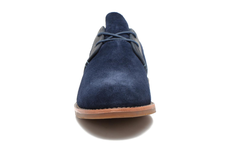 Chaussures à lacets Timberland Brooklyn Park Leather Ox Bleu vue portées chaussures